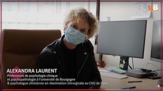Interview d'Alexandra Laurent pour la recherche PsyCOVID