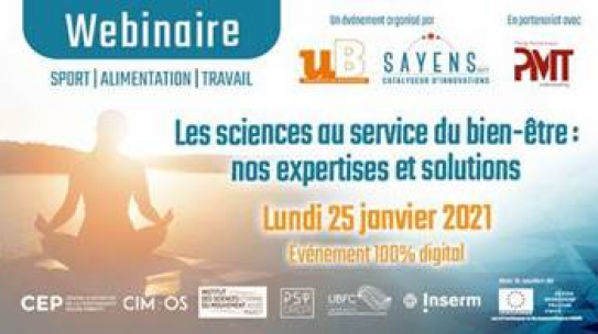 Webinaire – Les sciences au service du bien-être : Replay & documents